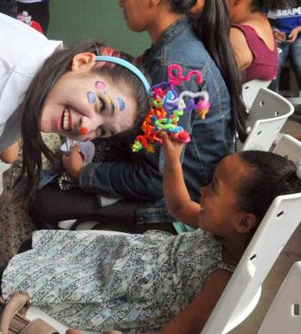 A estudante revela que era uma criança mimada. 'Mudei meus conceitos', diz a jovem de 18 anos (Antonio Cunha/CB/D.A Press)