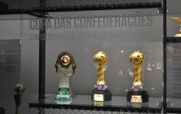 cbf museu seleção brasileira (Foto: Thiago Barros)