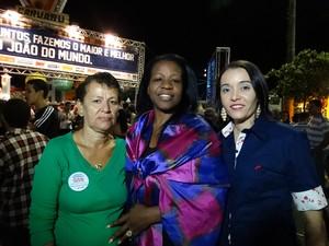 Pátio de Eventos (Foto: Paula Cavalcante/ G1)