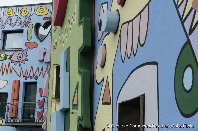 Hoje, a Rizzi-Haus (em alemão), é um dos principais cartões-postais de Brunsvique