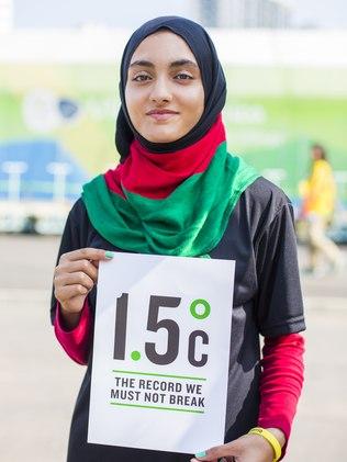 Afegã Kimia Yousofi estará nas Olimpíadas