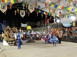 Festival de Quadrilhas (Foto: Paula Cavalcante/ G1)