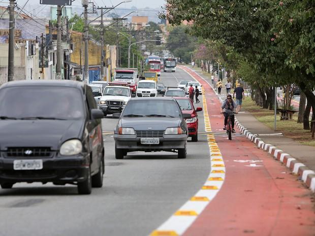 Avenida Sapopemba, na Zona Leste de São Paulo (Foto: Fábio Arantes/Secom Prefeitura de São Paulo)
