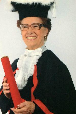Dona Coruja era referência na turma de formandos (Foto: Arquivo pessoal)