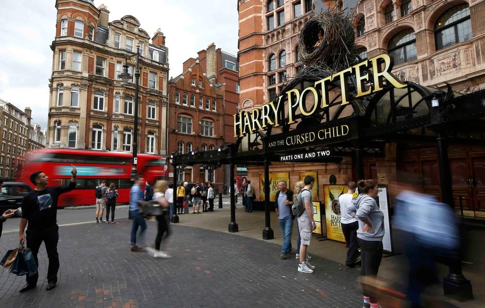 Teatro em Londresanuncia estreia da peça 'Harry Potter e a criança amaldiçoada' (Foto: Reuters/Peter Nicholls)