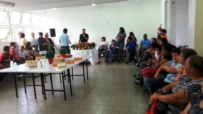 Homenagem mães paralímpicas Juiz de Fora (Foto: Roberta Oliveira)