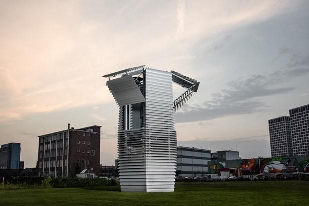 qualidade do ar nas cidades Daan Roosegaarde